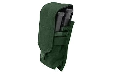 Tacprogear Staggered Rifle Mag Pouch, Olive Drab Green, Olive Drab Green P-STGRM1-OD