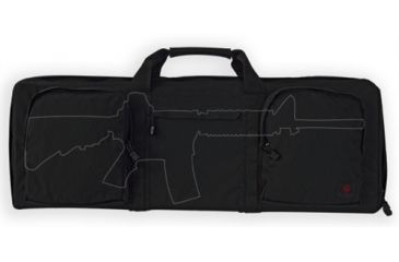 Tacprogear Tactical Rifle Case, 32 Inch, Black B-TRC1-BK