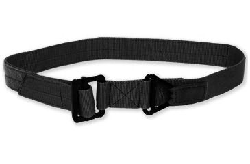 Tacprogear Universal Riggers Belt with 1.75 in. Webbing, Black BT-URB1-BK
