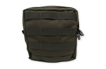 Tacprogear Utility Pouch, Large, Olive Drab Green, Olive Drab Green, Large P-UTYLG1-OD