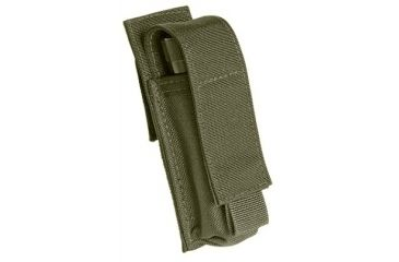 Tactical Assault Gear Duty 2 Battery Flashlight Pouch Ranger Green 812640