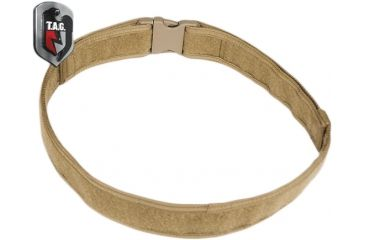 Tactical Assault Gear Duty Belt, Large 38-43in Waist, Coyote Tan 812545