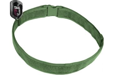 Tactical Assault Gear Duty Belt, Large 38-43in Waist, Ranger Green 812546