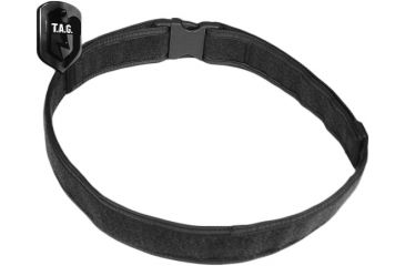 Tactical Assault Gear Duty Belt, Medium 32-37in Waist, Black 956211