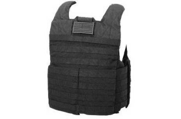 Tactical Assault Gear Rampage Releasable Armor Carrier, Small/Medium, Black 812449
