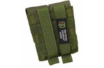 Tactical Assault Gear Molle  Ranger Green 40mm Grenade 2 Pouch M40MM2RG