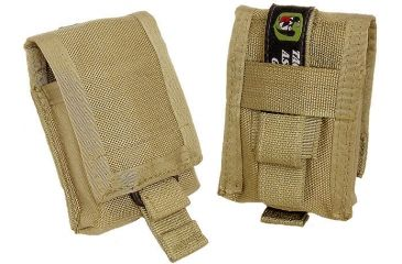 Tactical Assault Gear MOLLE GPS Garmin eTrex and Compass Pouch Coyote Tan 812127