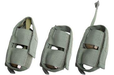 Tactical Assault Gear MOLLE Grenade Elevator Pouch, Ranger Green 812286