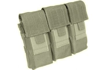 Tactical Assault Gear MOLLE M16 Mag 6 Pouch, Ranger Green 812026