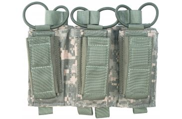 Tactical Assault Gear MOLLE Shingle/Pistol Enhanced 3 Magazine Pouch, Army ACU 812216