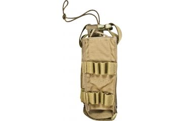 Tactical Assault Gear MOLLE MBITR Folding Radio Pouch, Coyote Tan 813301