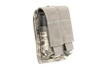 Tactical Assault Gear MOLLE Pistol Mag 2 Pouch, ABU 814943