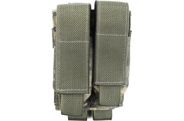 Tactical Assault Gear MOLLE Pistol Mag 2 Pouch, Army ACU 811008