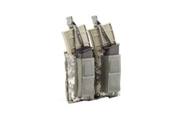 Tactical Assault Gear MOLLE Shingle Pistol Enhanced 2 Mag Pouch Army ACU 812211