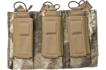 Tactical Assault Gear Molle Shinglepistol Enhanced 3 Magazine Pouch A Tacs 813421