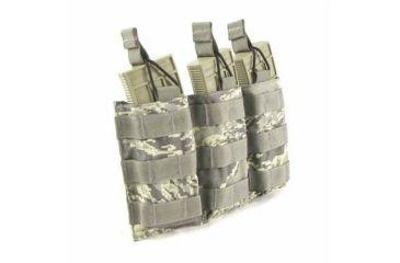 Tactical Assault Gear MOLLE Triple Shingle Pouch w/Bungee, ABU 814986