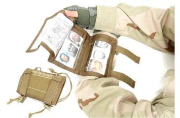 Tactical Assault Gear Tactical Arm Band w/Zippered Compartment - ABU 815013