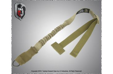 Tactical Assault Gear Tactical Single Point Sling Coyote Tan 811973