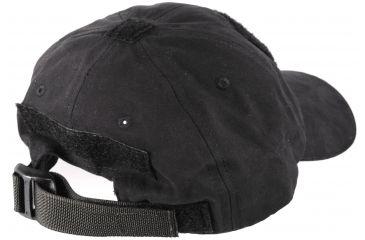 Tactical Assault Gear Warrior Hat with LED light Black WH3BK