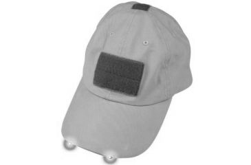 Tactical Assault Gear Warrior Hat with LED light Grey WH3CT 811742