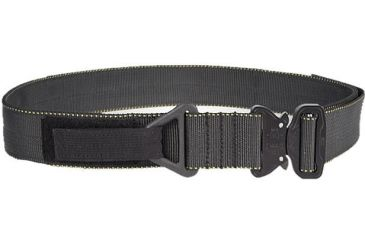 TAG Cobra Buckle Riggers Belt - Sm (30-32), Black