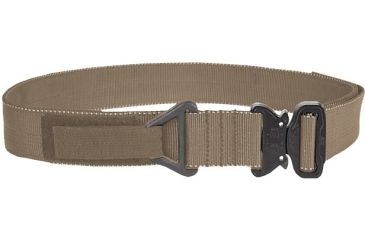 TAG Cobra Buckle Riggers Belt - Sm (30-32), Coyote Tan