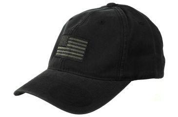 Tactical Assault Gear American FLEXFIT Hat (L/XL) Black AFH-L-BK