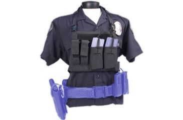 Tactical Assault Gear GO Time Chest Rig Black