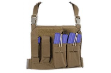 Tactical Assault Gear GO Time Chest Rig Coyote Tan