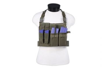 Tactical Assault Gear GO Time Chest Rig Ranger Green