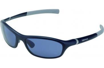 Tag Heuer 27 Sun Sunglasses, Dark Blue Frame/Light Grey Temples, Watersport Lens, Polarized 6001-405