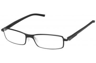Tag Heuer Automatic Eyeglasses, Black Frame/Black Black Temples, Clear Lens 0805-001
