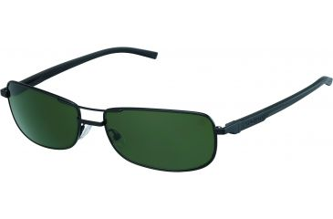 Tag Heuer Automatic Sunglasses, Black Frame/Black Black Temples, Green Outdoor Lens 0885-301