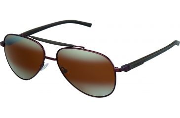 Tag Heuer Automatic Sunglasses, Chocolate Frame/Dark Brown Black Temples, Brown Outdoor Lens 0881-203
