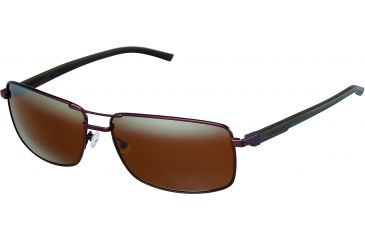 Tag Heuer Automatic Sunglasses, Chocolate Frame/Dark Brown Black Temples, Brown Outdoor Lens 0883-203