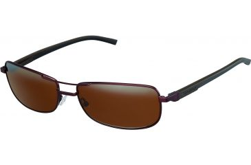 Tag Heuer Automatic Sunglasses, Chocolate Frame/Dark Brown Black Temples, Brown Outdoor Lens 0885-203