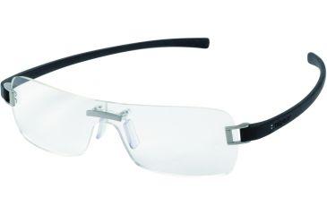 Tag Heuer Panorama Eyeglasses, Titanium Frame/Black Temples, Clear Lens 3571-001