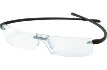 Tag Heuer Panorama Reflex Eyeglasses, Titanium Frame/Havana Temples, Clear Lens 3502-002