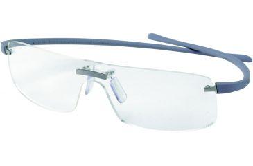 Tag Heuer Panorama Reflex Eyeglasses, Titanium Frame/Light Grey Temples, Clear Lens 3503-005