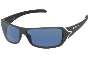 Tag Heuer Racer Sunglasses, White Frame/Grey Temples, Watersport Lens, Polarized 9202-413