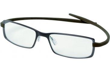 Tag Heuer Reflex 2 Eyeglasses, Chocolate Ceramic Frame/Havana Temples, Clear Lens 3704-002