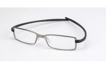 Tag Heuer Reflex 2 Eyeglasses, Pure Frame/Dark Grey Temples, Clear Lens 3703-017