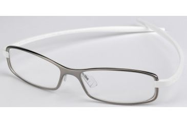 Tag Heuer Reflex 2 Eyeglasses, Pure Frame/White Temples, Clear Lens 3705-007