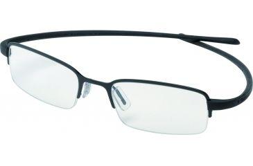 Tag Heuer Reflex Eyeglasses, Black Frame/Black Temples, Clear Lens 3203-001