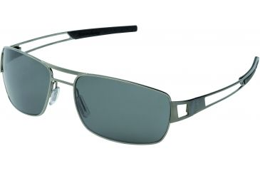 Tag Heuer Speedway Sunglasses, Dark Frame/Black Temples, Green Precision Lens, Polarized 0203-302