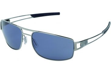 Tag Heuer Speedway Sunglasses, Ruthenium Frame/Blue Temples, Watersport Lens, Polarized 0201-401