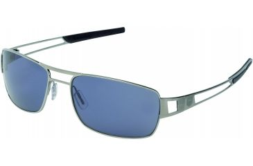 Tag Heuer Speedway Sunglasses, Ruthenium Frame/Blue Temples, Watersport Lens, Polarized 0203-401