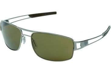 Tag Heuer Speedway Sunglasses, Ruthenium Frame/Havana Temples, Brown Precision Lens, Polarized 0201-201