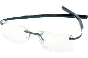 Tag Heuer Spring Eyeglasses, Black Ceramic Frame/Carbon Temples, Clear Lens 0301-003