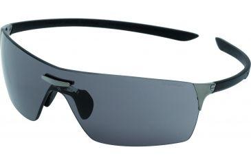 Tag Heuer Squadra Sunglasses, Dark Frame/Black Black Temples, Grey Outdoor Lens 5501-103